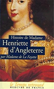 Book's Cover ofHistoire d'Henriette d'Angleterre