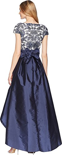 Low Long Papell Midnight Adrianna Ivory Womens High Dress nEIafq