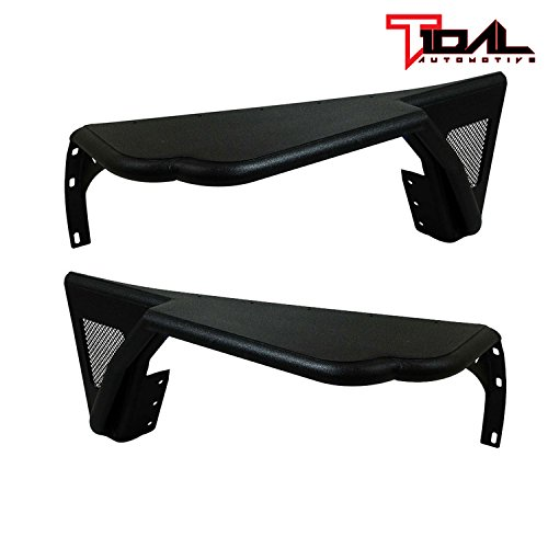 Tidal Front Tube Fender Flare Rocker Guard for 76-86 Jeep Wrangler CJ