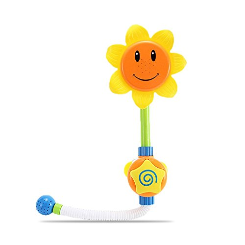 B&Y Baby Bath Toy-Sunflower Tap Faucet Sprinkler for Paddle