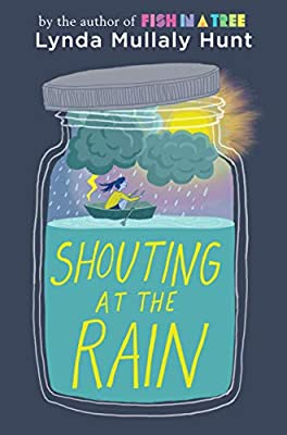 Image result for shouting at the rain book