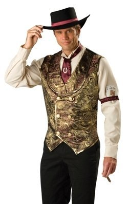 Gamblin' Man Adult Costume - X-Large