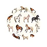 Horse Ponies Party Supplies Dessert Plates (8)