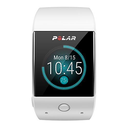 Image of Polar M600 GPS Smart Sports Watch/Heart Rate Monitor, White - Compatible with iPhone and Android Phone