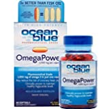Ocean Blue Professional OmegaPower Softgels, 60 Count