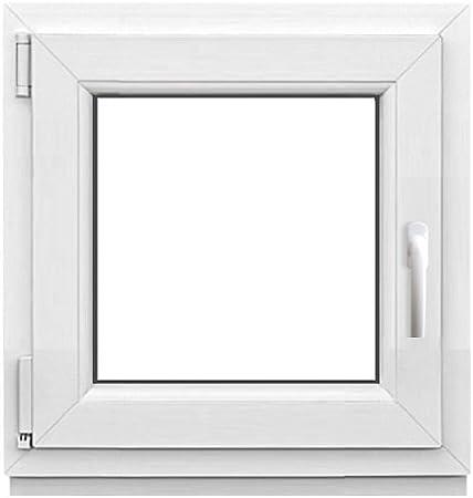 Dreh-//Kipp DIN links Weiß Kellerfenster 2 Fach BxH 105x80 cm /& 1050x800 mm
