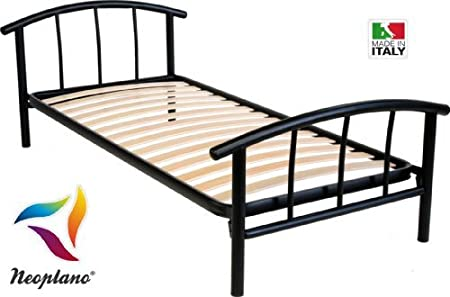 Three Quarter Bed 120 X 190 Cm With Headboard And Footboard And