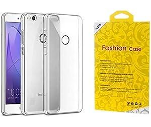 Honor 8 Lite Dual Sim - 16GB, 3GB RAM, 4G LTE, White (1020-107396