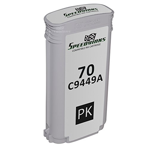 Speedy Inks - Replacement for HP 70 / HP70 / C9449A Photo Black Ink (130ml Photo Black Ink Cartridge)