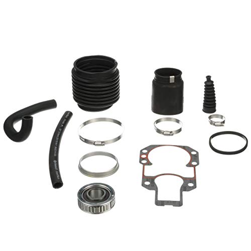 Quicksilver Stern Drive Transom Seal Repair Kit 803098T1 - for MerCruiser R, MR and Alpha One Stern Drives with Exhaust Bellows