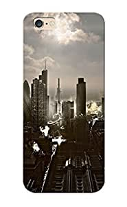 Runandjump 023afe16740 Case Cover Iphone 6 Plus Protective Case Howardkingsnorth Kingsnorth London Cities Architecture Buildings Skyscrapers Skies Clouds Scenic Reflections Sunlight ( Best Gift For Friends)