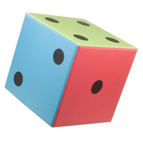 Nordesco Foam Dice, 16'' x 16'' (Sold Individually) by Nordesco
