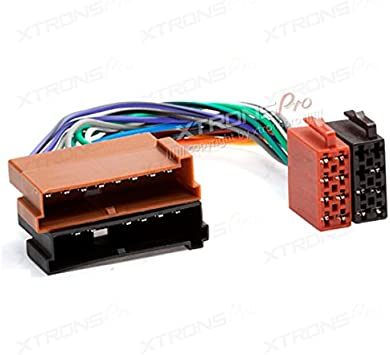 Amazon.com: XTRONS ISO Wire Harness for Ford Car Stereo Audio Wiring  Adapter Plug Connector: AutomotiveAmazon.com