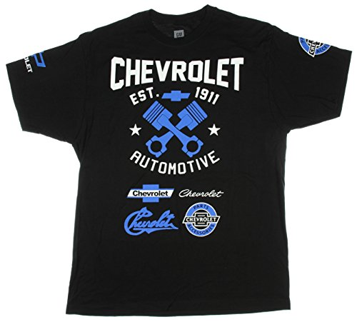 Chevrolet Chevy Automotive Est 1911 Graphic T-Shirt - (Camaro Graphic Tee)
