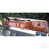 Club Car DS Golf Cart Custom Dash Assembly Wood Grain