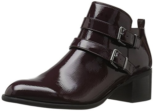 Franco Sarto Women's Raina Ankle Boot, Dark Burgundy, 8.5 Medium US (Boots Leather Franco Sarto Women)