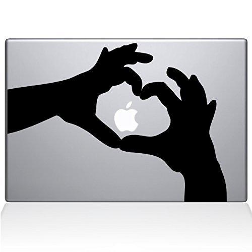 安いそれに目立つ The - Decal Guru Love Black Heart Hands Macbook Decal Macbook Vinyl Sticker - 15 Macbook Pro (2016 & newer) - Black (1236-MAC-15X-BLA) [並行輸入品] B0788LFLWF, シルバーアクセサリー夢ロード:fcc2956c --- a0267596.xsph.ru
