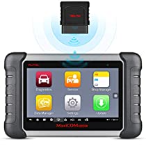 Autel MaxiCOM MK808BT OBD2 Scanner Diagnostic Tool,with MaxiVCI Supports Full System Diagnosis & IMMO/EPB/SAS/BMS/TPMS/DPF, Upgraded Version of MK808