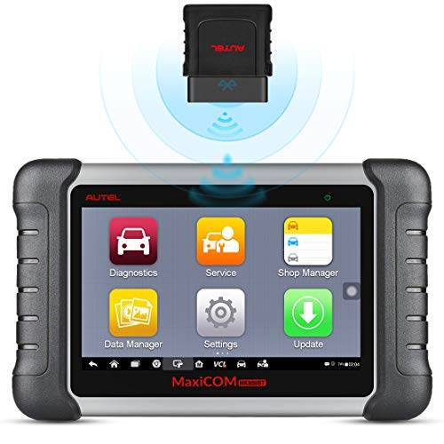 Autel MaxiCOM MK808BT OBD2 Scanner Diagnostic Tool,with MaxiVCI Supports Full System Diagnosis &...