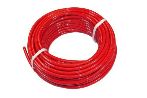 -40 Degree F to +160 Degree F Outside Diameter 16 mm Red Shore A 98 250 Length Advanced Technology Products PU16MBR Surethane NSF 51 Polyurethane Tubing