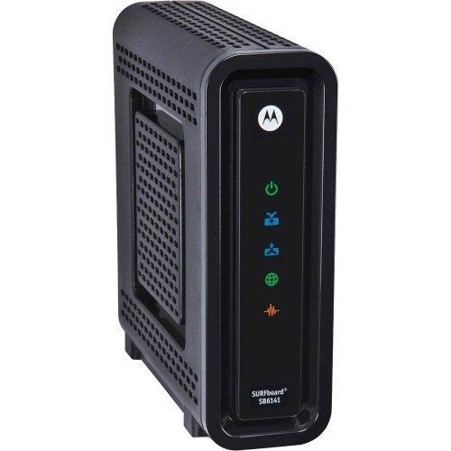 Motorola SB6141 (Comcast, TWC, Cox Version) – DOCSIS 3.0 Cable Modem [Bulk Packaging]