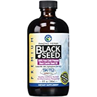 Amazing Herbs Premium Black Seed Oil, 8 Fluid...