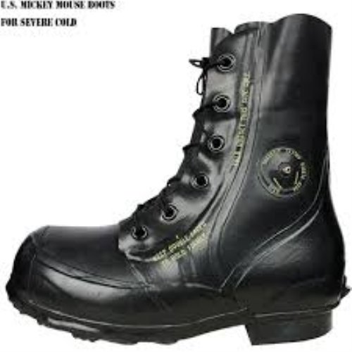 Black Mickey Mouse Boots - Military Surplus (10 Regular)
