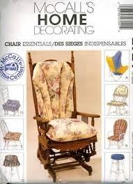 - McCall's Crafts Pattern 2724 Chair Essentials