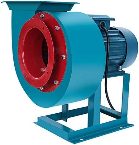 Ventilador centrífugo industrial, carcasa de acero al carbono ...