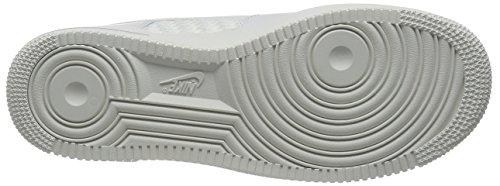 Nike Air Force 1 '07 Lv8, Zapatillas De Deporte para Hombre, Weiß Blanco (Blanco (Smmt Wht/Smmt Wht-Smmt Wht-Chr))