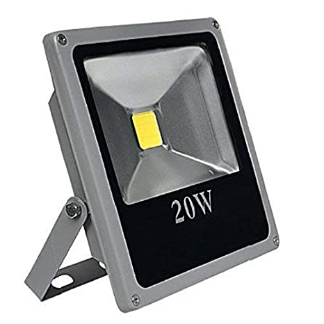 CristalRecord LED SMD Proyector Extraplano para Exterior, 10 W, 138 x 115 x 40 mm R7s, 10w, 13,8 x 11,5 x 4 cm
