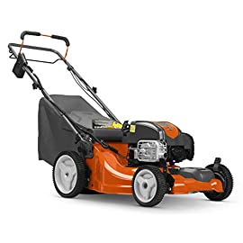 Husqvarna LC221FHE, 21 in. 163cc Briggs & Stratton Walk Behind Self-Propelled Mower 5 Push-button electric start lets you get going faster Front-wheel drive saves effort and energy 21-Inch cutting width