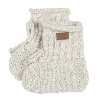 Melton Unisex Baby Lambfur Wool Booties