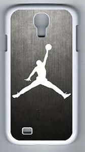 Air Jordan Logo Samsung Galaxy S4 I9500 Case, Customized PC White Case for Samsung Galaxy S4 I9500