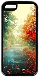 Autumn Road Theme Iphone 5C Case