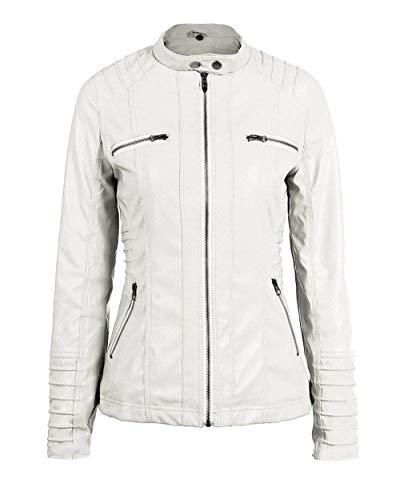 Fashion Stlie Casual Moto Outerwear Jacket Outwear Autunno Puro Lunga Incappucciato Grazioso Giubbino Donna Adattamento Di Giubbotto Biker Manica Morbidi Beige Colore Primaverile Moda 0R51XY