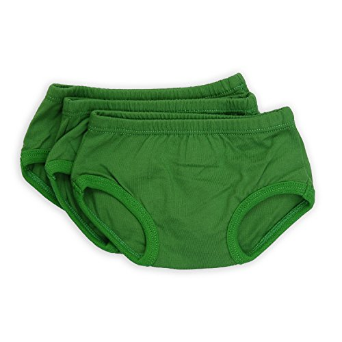 Tiny Undies Unisex Baby Underwear 3 Pack (18 Months, Fig Green) by Tiny Undies