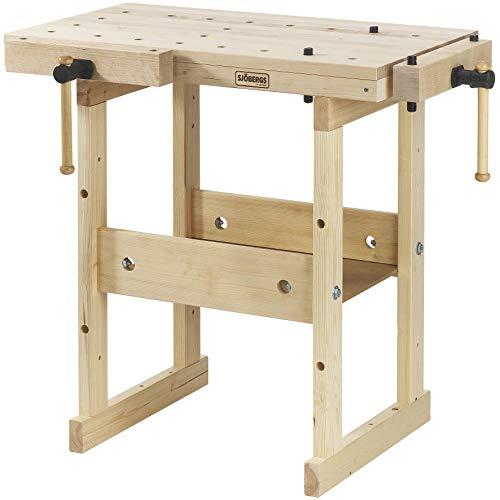 (Sjobergs SJO-33283 Hobby Plus 850 Birch Workbench)