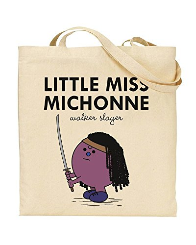 TOTE Gift Shopping by Up Little Little Walking Miss Mash Michonne Novelty TeeDemon Miss Bag Dead The Handbag amp; xxOZqwU