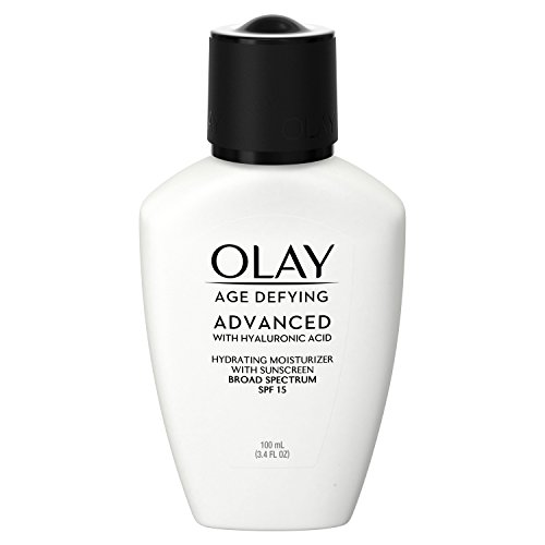 Face Moisturizer with Hyaluronic Acid, SPF 15 by Olay Age Defying Advanced, 3.4 fl oz
