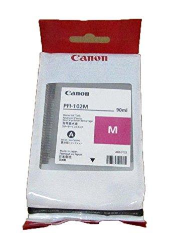 Canon PFI-102M Magenta 90ml Ink Tank for Canon iPF510 / iPF680 / iPF685 / iPF710 / iPF720 / iPF780 / iPF785
