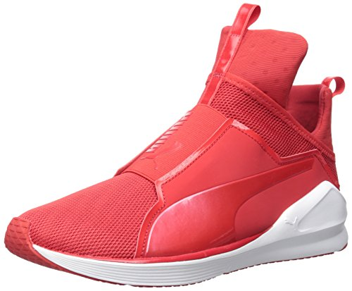 Puma Women's Fierce Core Fitness Shoes, Black, B(M) US High Risk Red/Puma White