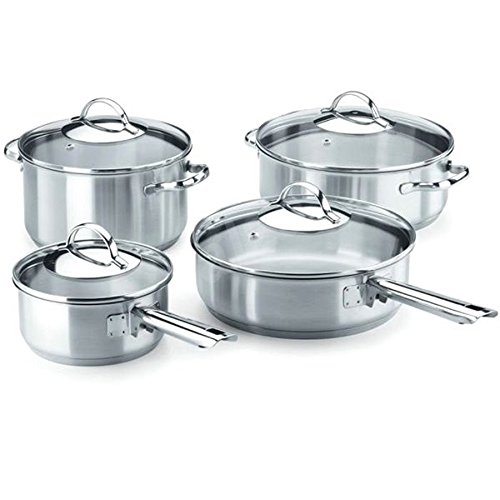 Fagor 978011549 Professional Cookware Set 8-Piece Stainless