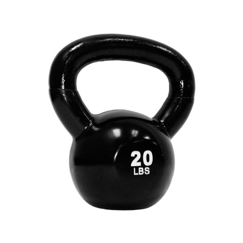 TKO Vinyl Dipped Kettlebell, 20-Pound Review