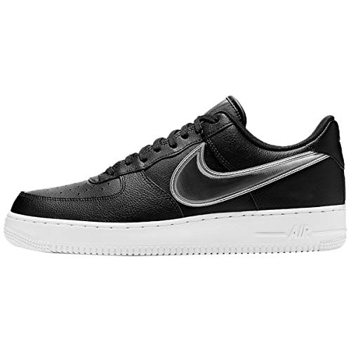 Nike Air Force 1 '07 Lv8 3 Mens Style: AO2441-003 Size: 10 Black/Black-White