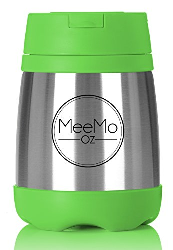 thermos lunch box | food jar double walled vacuum insulated stainless steel | 16oz (Food Ounce 16 Insulated)