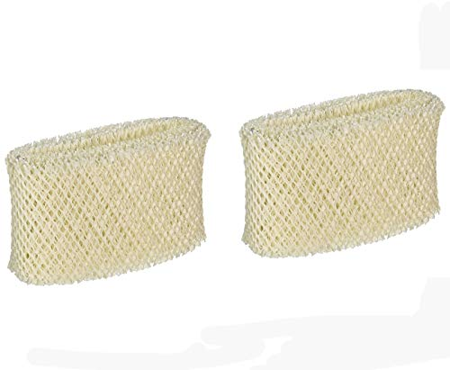 Ximoon 2 Pack Humidifier Filter Replacements for Vicks & Kaz WF2, Fit Vicks V3500N, V3100, V3900 Series, V3700, Sunbeam 1118 Series