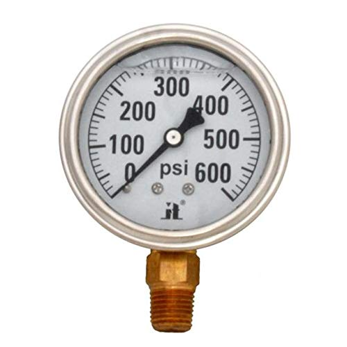 TotalTurf 0-600 PSI Low Pressure Gauge from TotalTurf