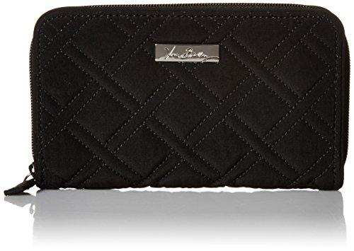 Accordion Purse (Vera Bradley Accordion Wallet, Classic Black, One Size)