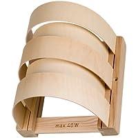 Pantalla para lámpara de sauna (Madera blendschirm 5barras